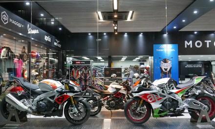 Hong Kong Motoplex: la número 300 del Grupo Piaggio