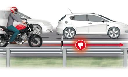 Las 10 infracciones más peligrosas en moto, según la DGT
