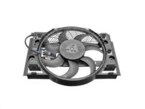 BMW e46 M3 Auxiliary Fan Assembly front of radiator OEM | eBay