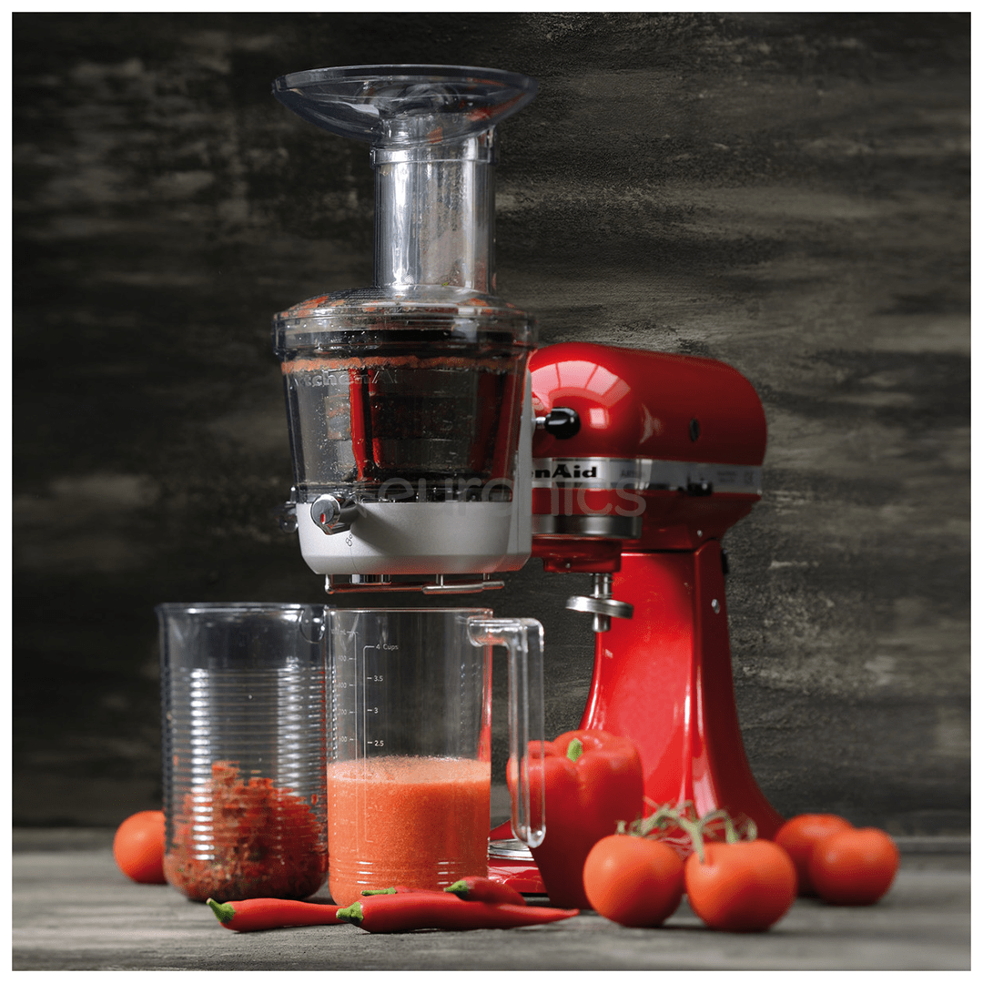 Slow Juicer And Sauce Attachment For Artisan Mixer