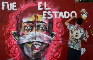 Jalisco. Miles marchan por solidaridad con Ayotzinapa. Foto: Rafael del Río