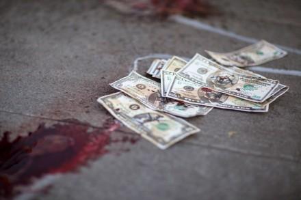 Una de las protestas del Movimiento por la Paz en contra del lavado de dinero