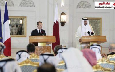 زيارة امير قطر الى فرنسا.. والبحث عن وساطة لحل الازمة!