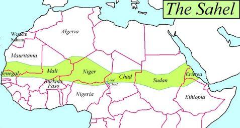 دول الساحل الافريقي