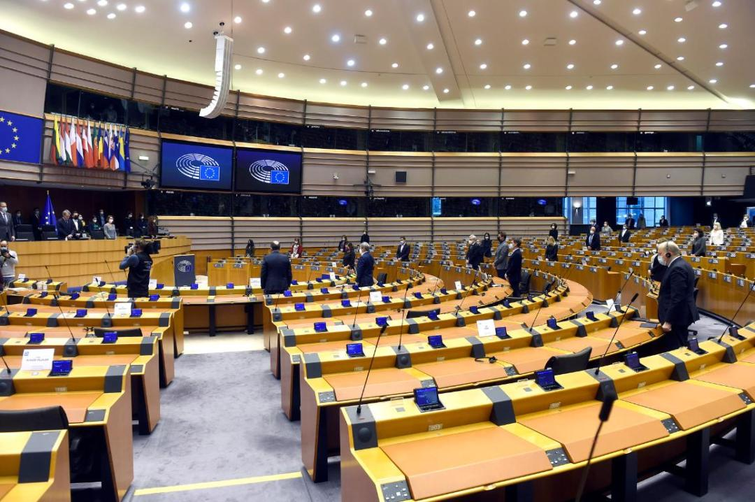 A minute of silence during the opening of March plenary session of the European Parliament in honour of the Italian Ambassador to Democratic Republic of Congo, Luca Attanasio, who was killed in an ambush last month.