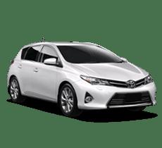 Economy rental car