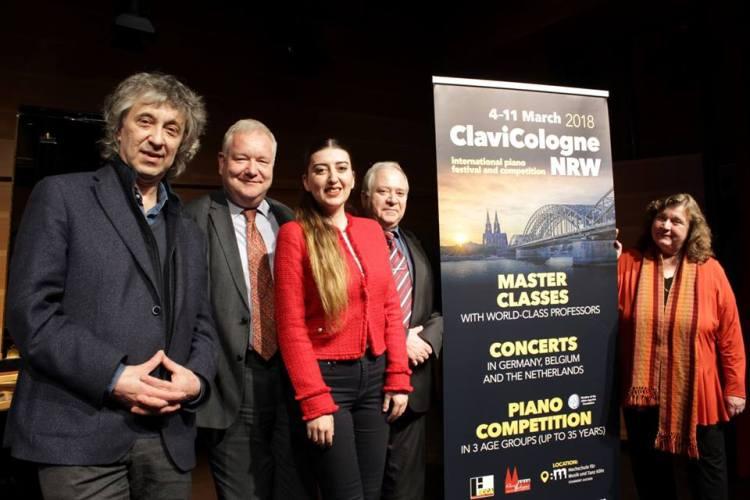 """Vom 04. März – 11. März 2018 veranstaltet die ECCA GmbH in Kooperation mit der Hochschule für Musik Köln Standort Aachen das internationale Klavierfestival """"ClaviCologne Aachen"""" in der Stadt Aachen."""