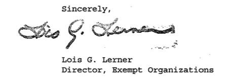 Lois Lerner Signature Quand Malik Obama, le frère de Barack Obama, rejoignit le Hamas et déclara: «Jérusalem est à nous; nous arrivons»
