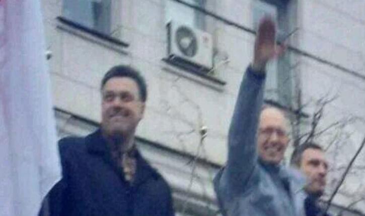 Ukraine: le nazi Arseni Iatseniouk désigné Premier ministre