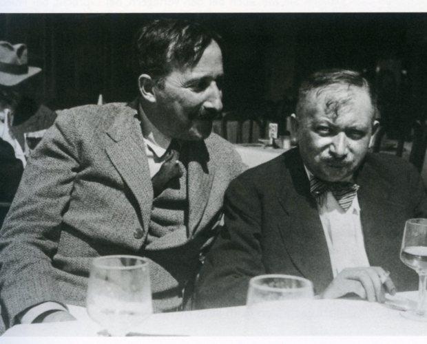 Stefan Zweig et Joseph Roth à Ostende 1936