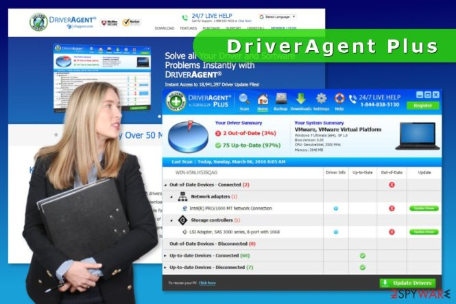 DriverAgent Plus Crack With Product Key