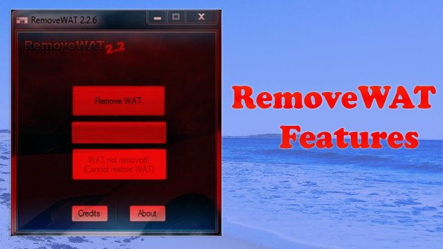 RemoveWAT 2.2.8 Activator For Windows by TeamDaz