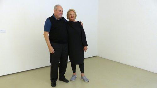 Ursula Krinzinger und Harald Falckenberg (c) European Cultural News