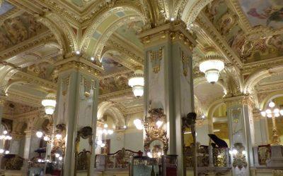 Kaffeehäuser in Budapest – ein Wintermärchen