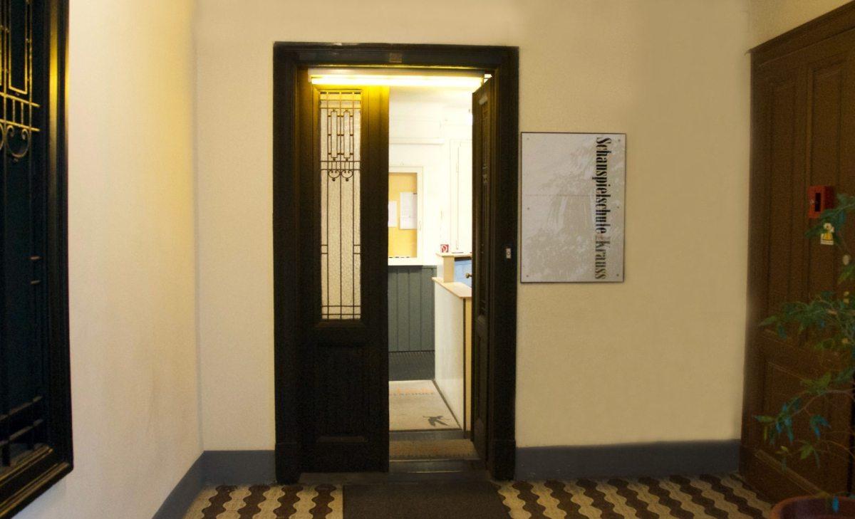 Eingang Schauspielschule Krauss (c) Schauspielschule Krauss