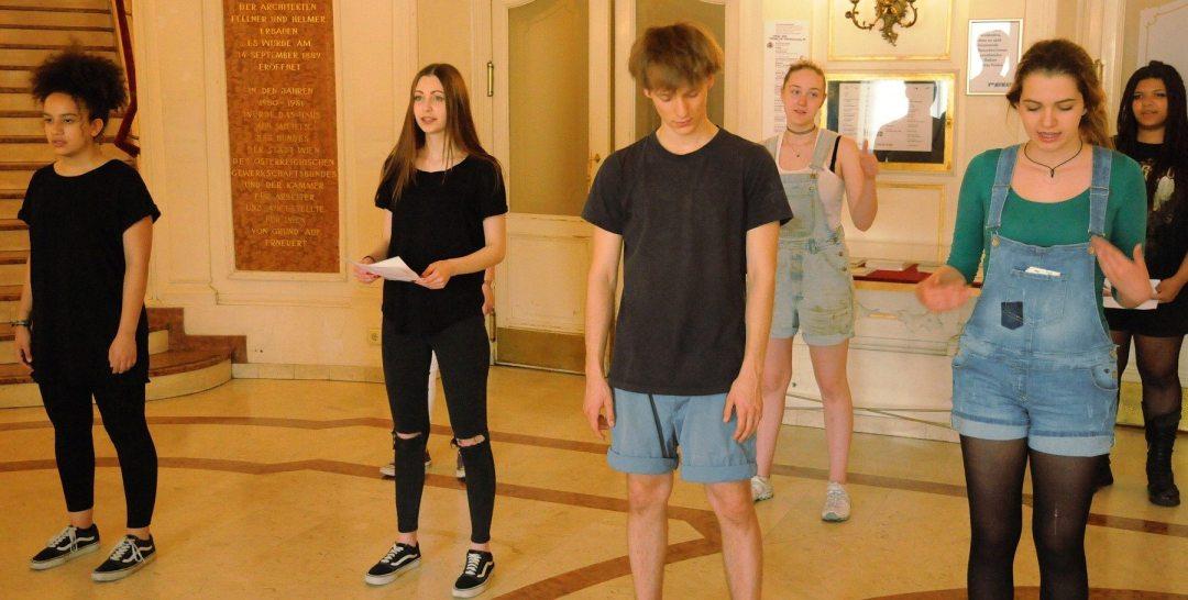 Das Junge Volkstheater in Aktion(c) Stephan Engelhardt
