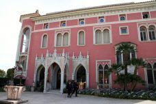 Venetian-Gothic entrance of the Villa Ephrussi de Rothschild