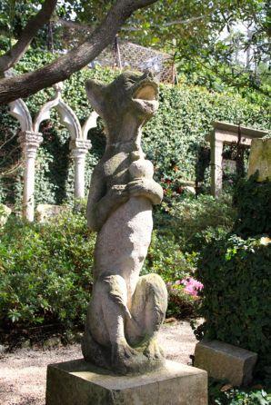Statue at Villa Ephrussi de Rothschild