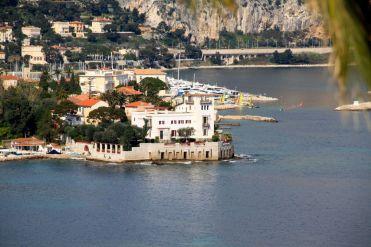 Villa Kérylos Vied from Cap Ferrat