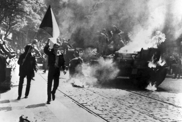 Europe Marks 50 Years since Crushing of Prague Spring by Soviet, Warsaw Pact Tanks in 1968
