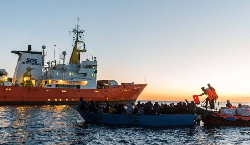 Last Private Migrant Rescue Ship in Mediterranean, the Aquarius, Sees Registration Revoked by Panama