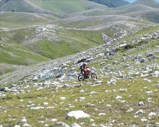 Motociclisti nelle aree protette