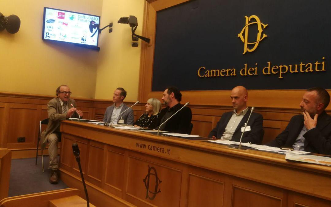 Conferenza stampa alla Camera del 26 marzo 2019 su pesticidi e inceneritori in Veneto