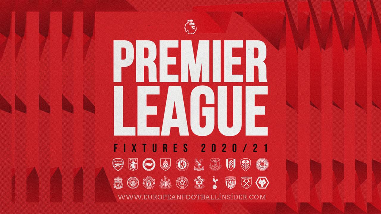 Premier League Fixtures 2020/2021: Every Club Full ...