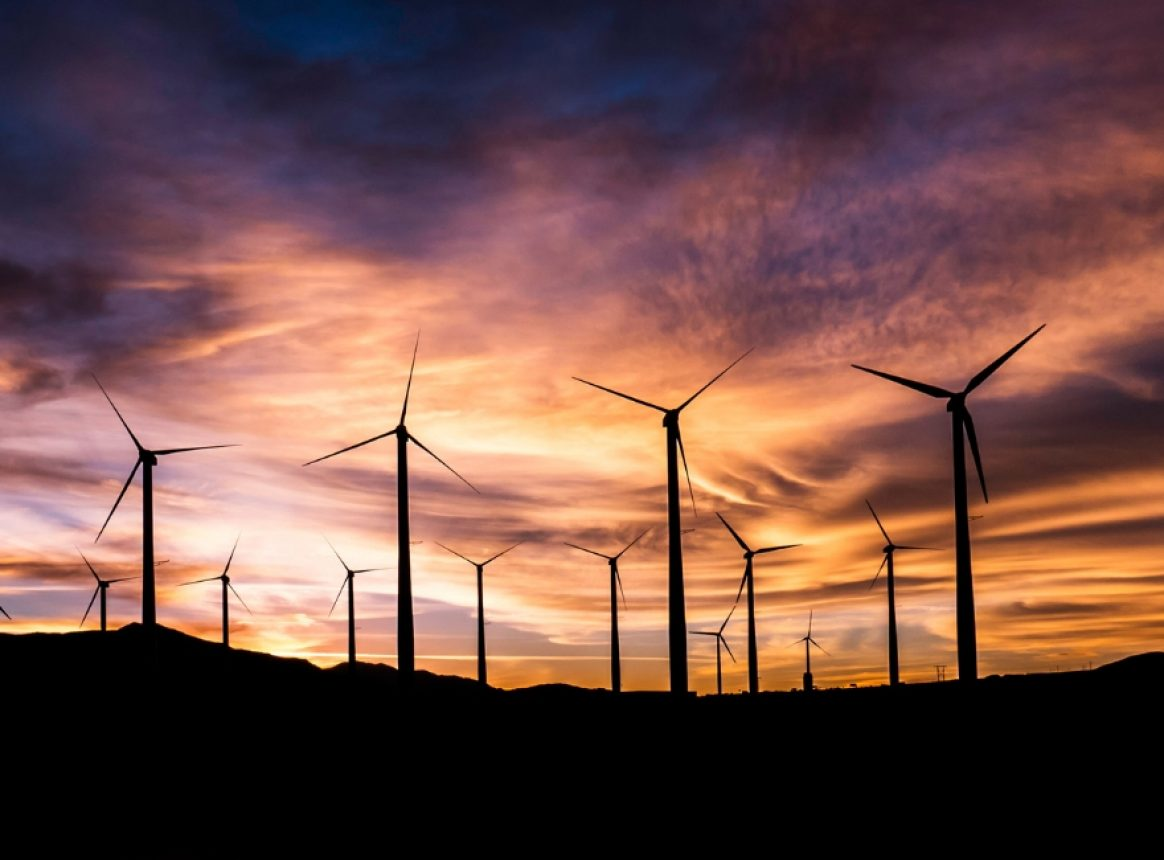 The impact of large-scale wind farms on global warming