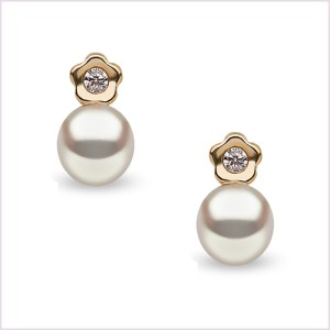 Euro Pearls Freshwater Pearl Earrings