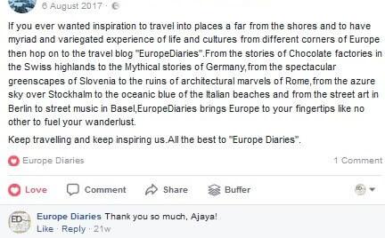 europe trip planner europe diaries