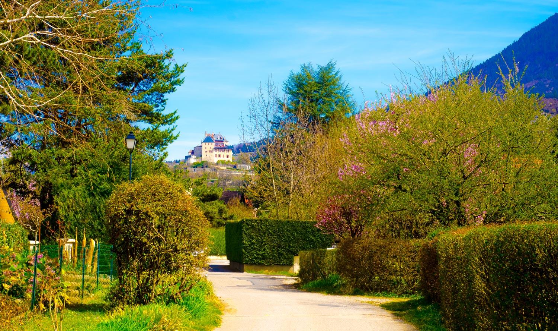The Castle In Menthon-St-Bernard