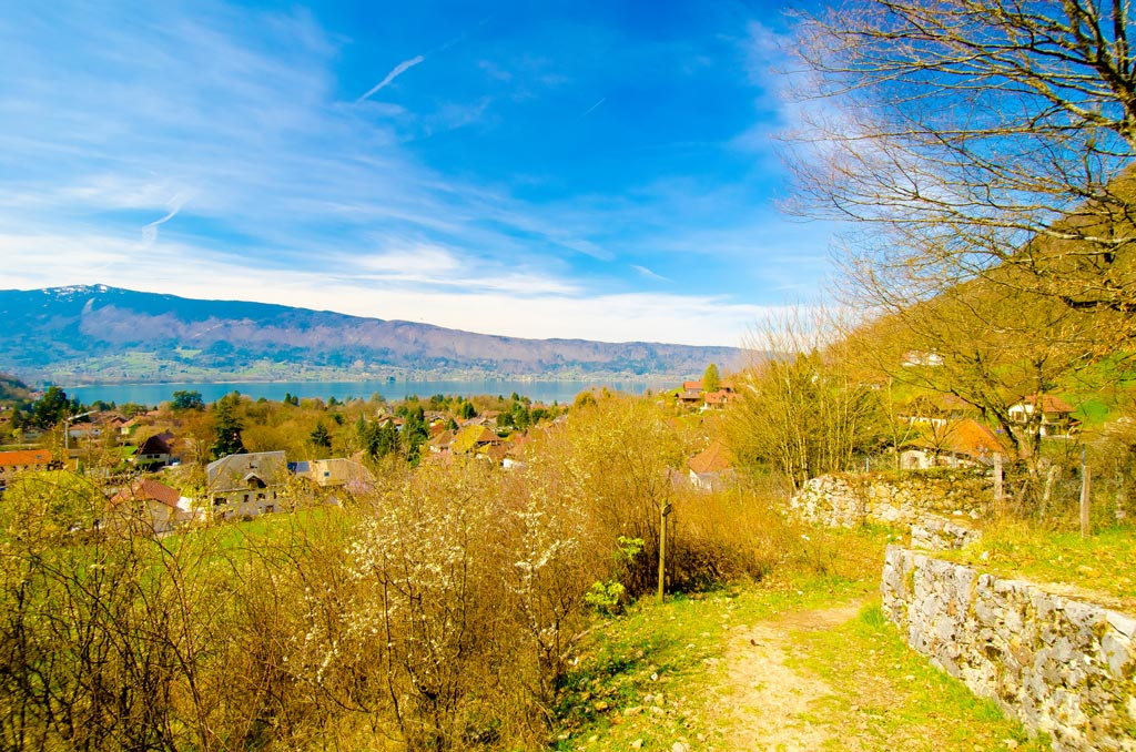 The Château path in Menton-St-Bernard