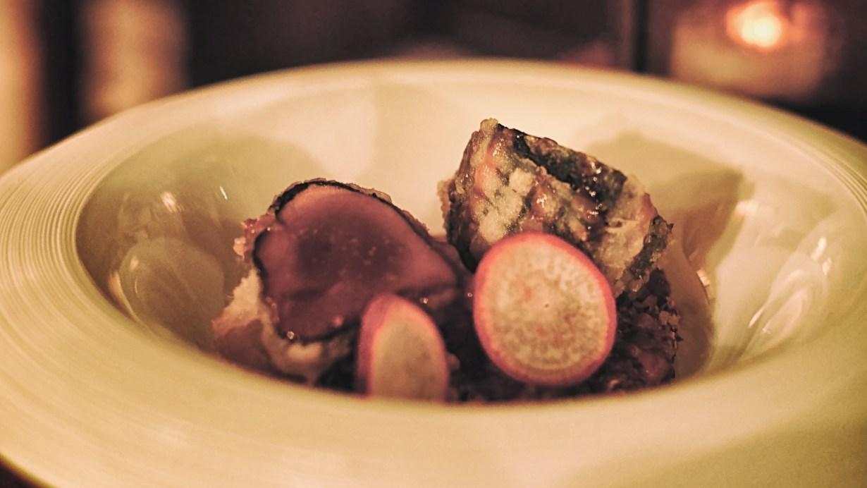 Tempura Tuna at the Fusion Bar & Restaurant in Florence