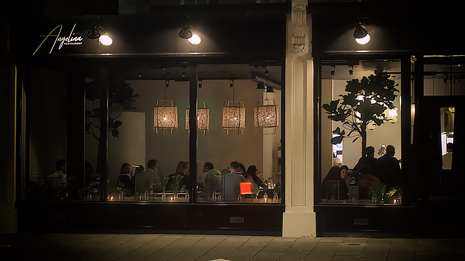 Angelina Restaurant in Dalston, East London