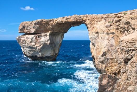 Azure Window, Malta, was the backdrop for the Dothraki wedding in Season 1