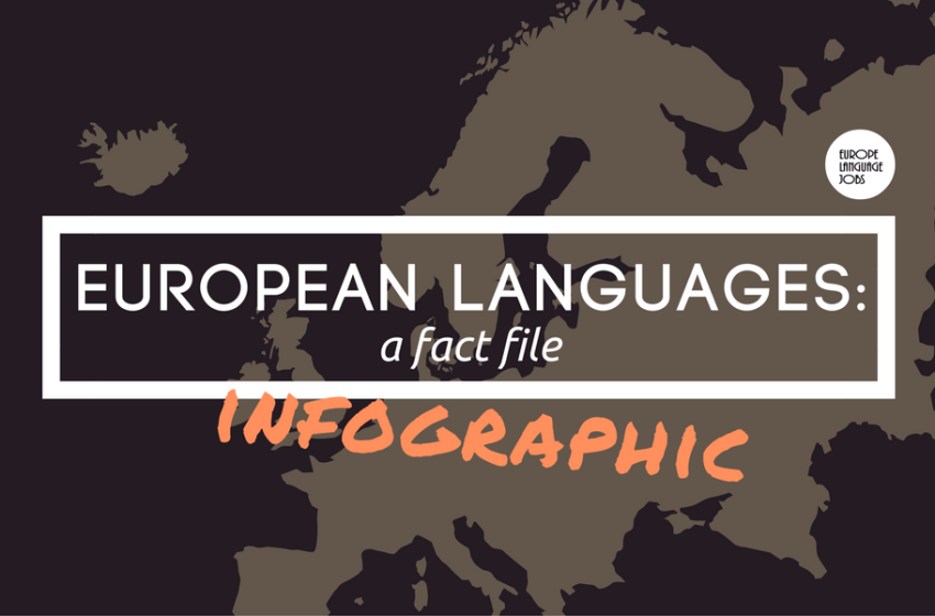 European Languages: A Fact File (infographic)