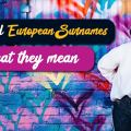 odd european surnames