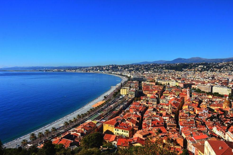 Côte d'Azur is a summer destination