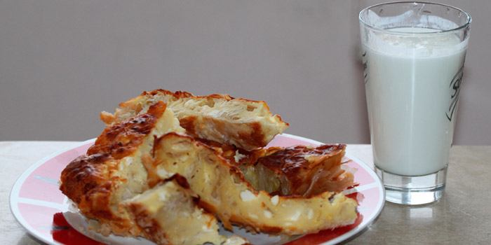 You can buy a banitsa for just one euro in Bulgaria