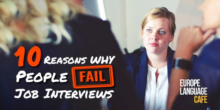 reasons people fail interviews