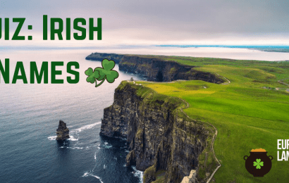 quiz: irish names