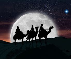 3 wise men european gift bringers