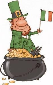 Irish stereotypes, lucky, luck