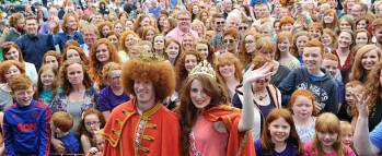 Irish stereotypes, read hair, ginger