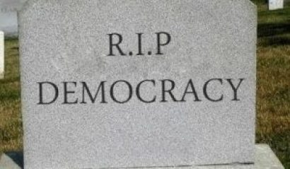 democracy-headstone