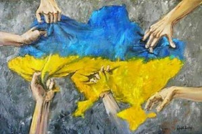 Ukraine-torn-apart