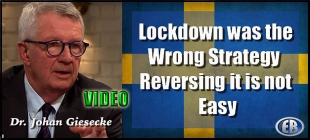 Swedish expert, Dr. Johan Giesecke: why lockdowns are the wrong ...