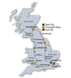 EU100 Map