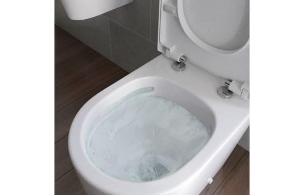 Fabulous Cilantro Rimless C C Fully Shrouded Wc Soft Close Seat Machost Co Dining Chair Design Ideas Machostcouk